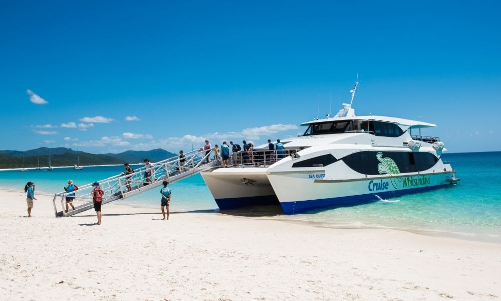 Whitehaven Beach and Hamilton Island Tour with Lunch