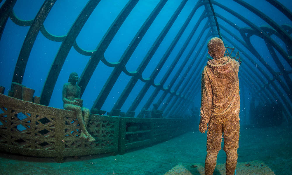 Museum Of Underwater Art And Great Barrier Reef Diving Day Trip