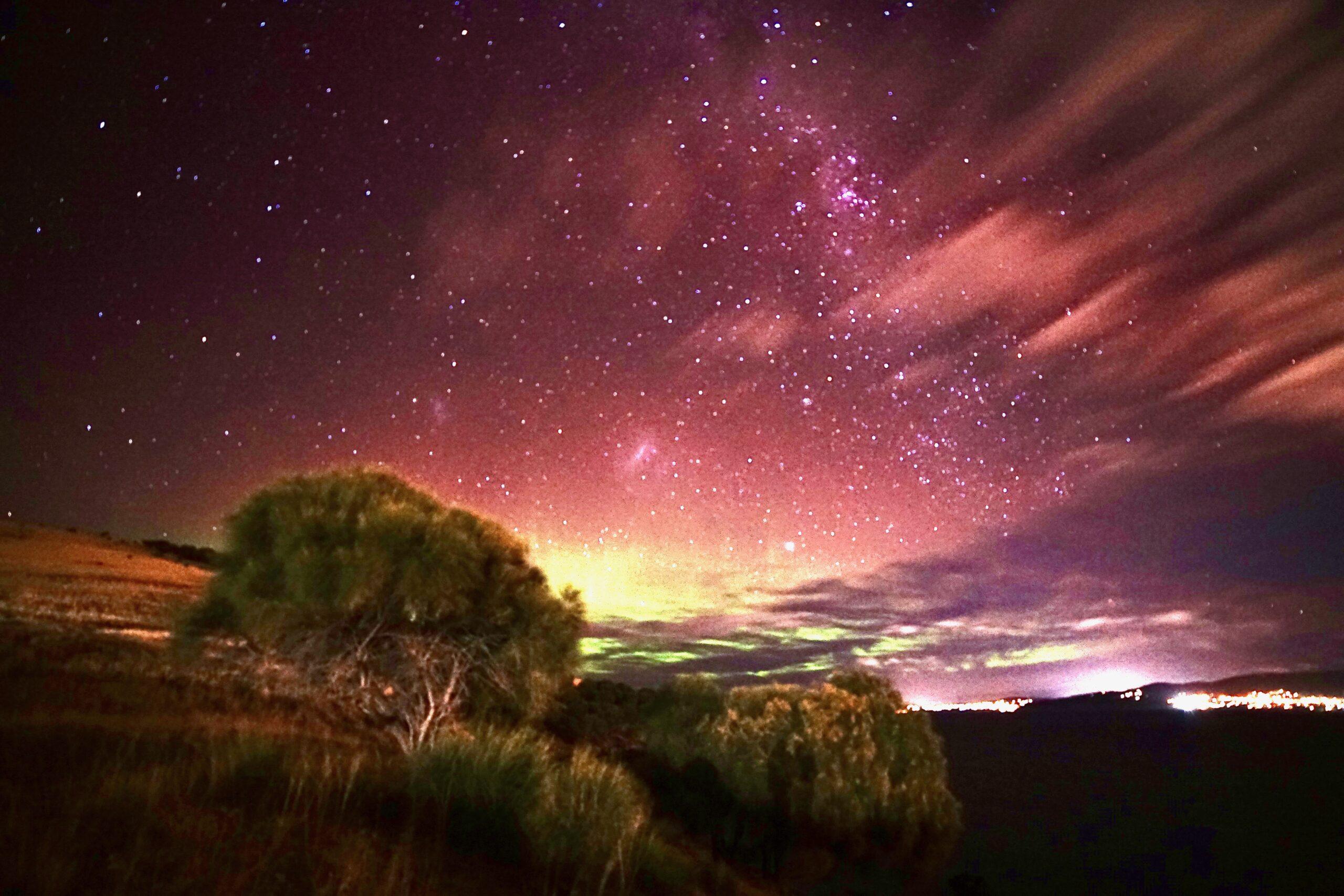 Stargazing and Aurora Watching tour of Hobart