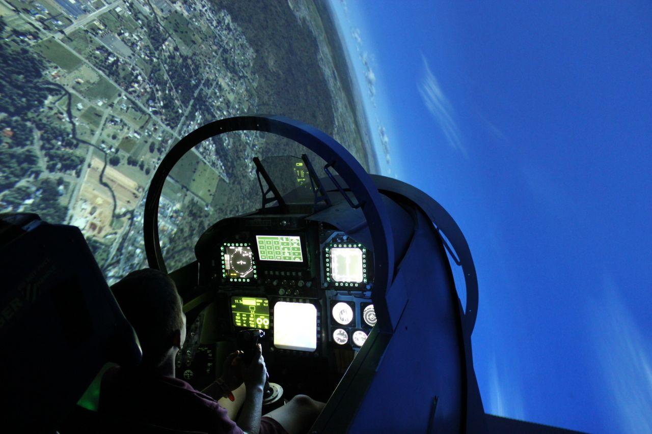 Fighter Jet Simulator 30 minutes