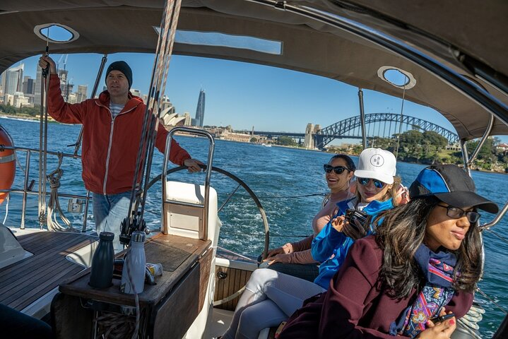 Sailing Lunch or Dinner Cruise on Sydney Harbour